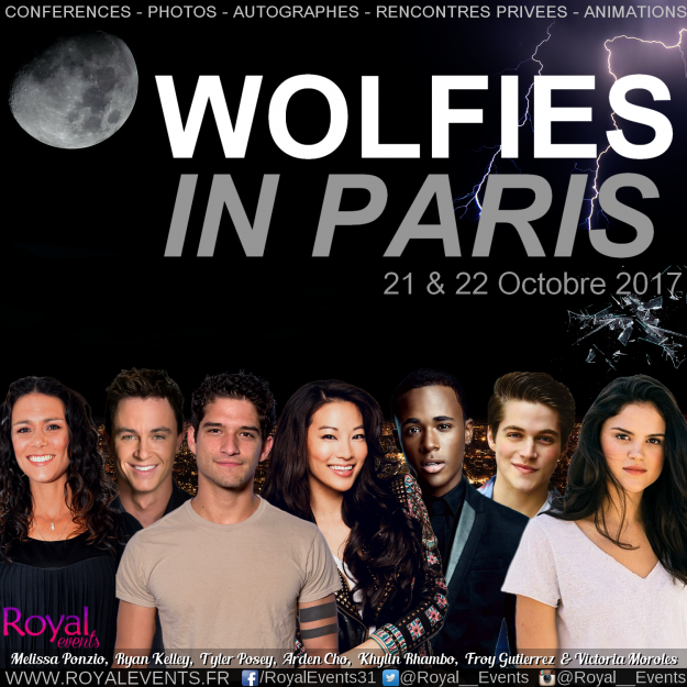 Wolfies in paris - Teen Wolf convention
